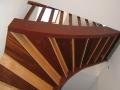 Pose de contremarches sur un escalier de service