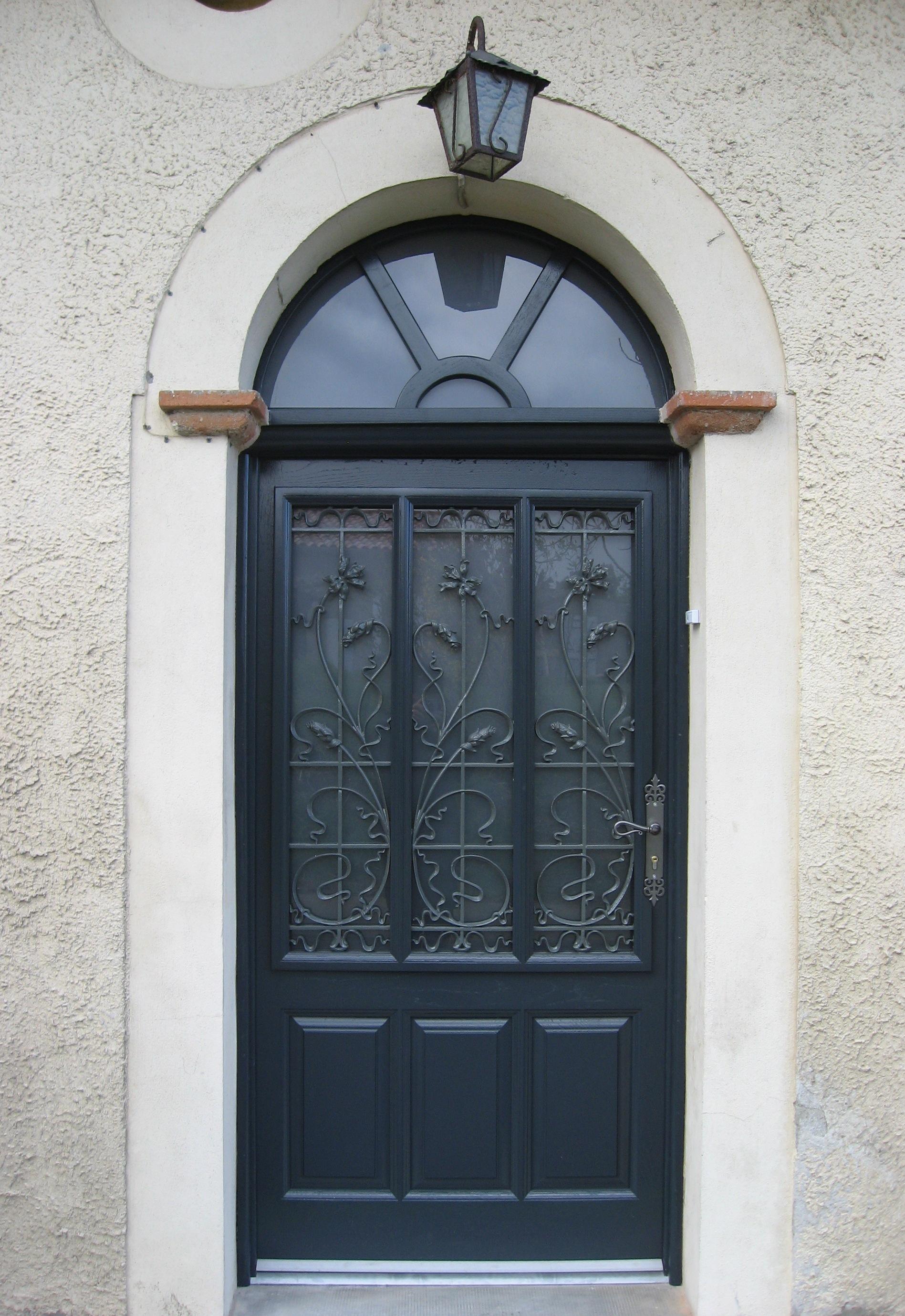 Pose de porte interieure et exterieure