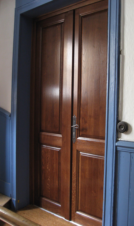 Fabrication et pose de porte bois sur mesure porte for Porte et fenetre sur mesure