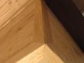 Lambris chataignier vernis avec isolation
