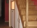 Aménagement sous escalier à peindre