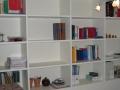 Bibliothèque en MDF laqué