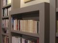 Bibliothèque géante laquée