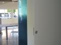 Porte plate coulissante peinte