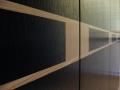 Détail marquetterie façade de placard