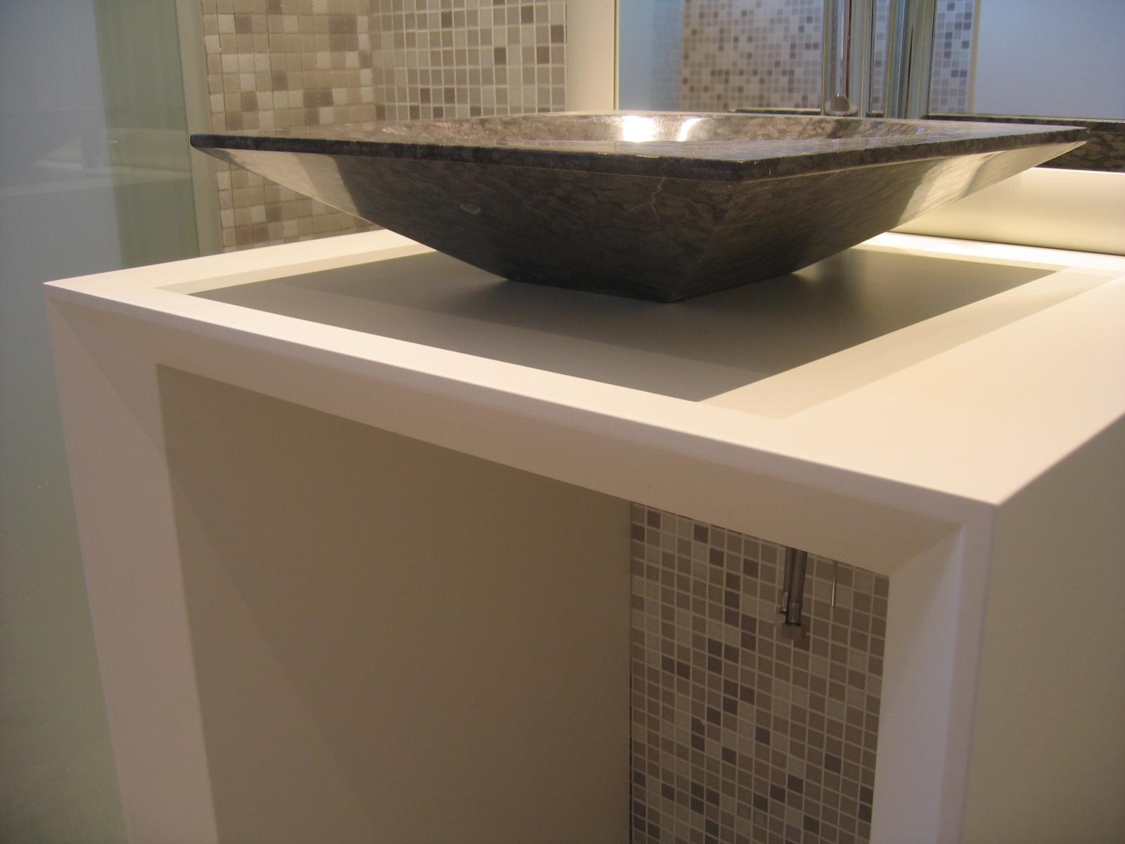 Fabrication meuble salle de bain bois à Toulouse - Stéphane Germain